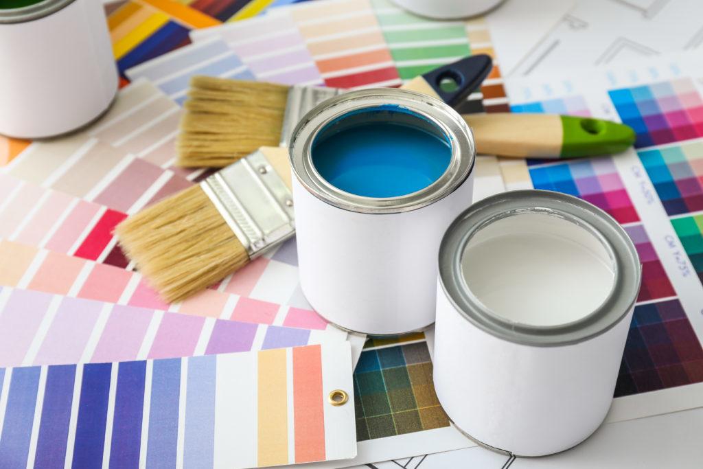 Farbmischanlage