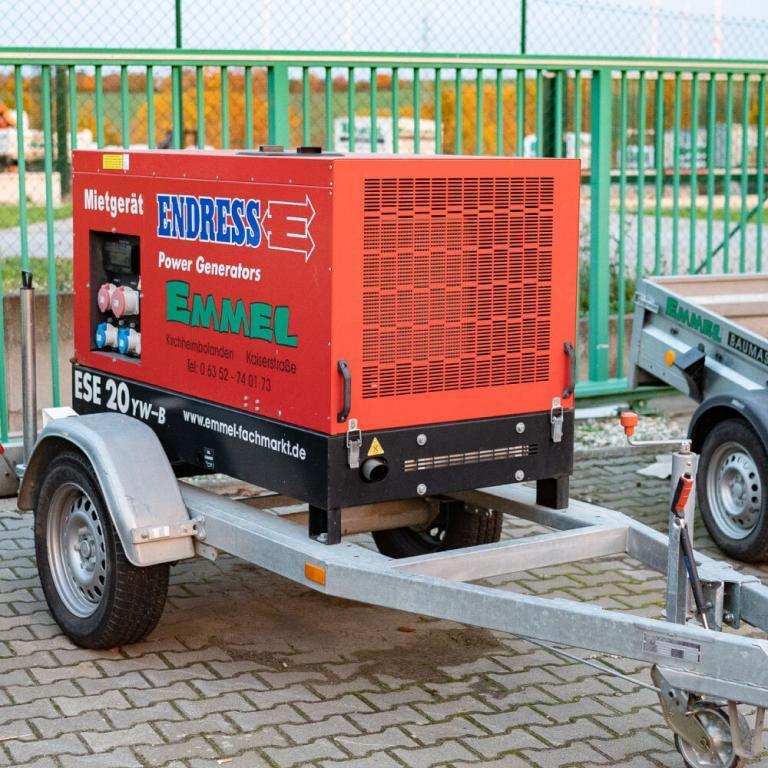 ENDRESS Stromerzeuger ESE 20 YW-B mit Fahrgestell FG 135 ST